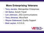 more enterprising veterans