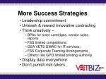 more success strategies