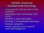 c82sad social and developmental psychology2