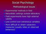social psychology21