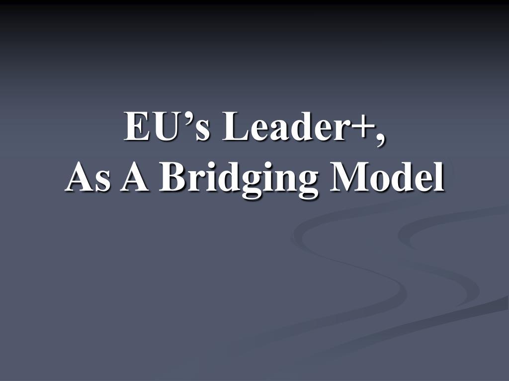 EU's Leader+,