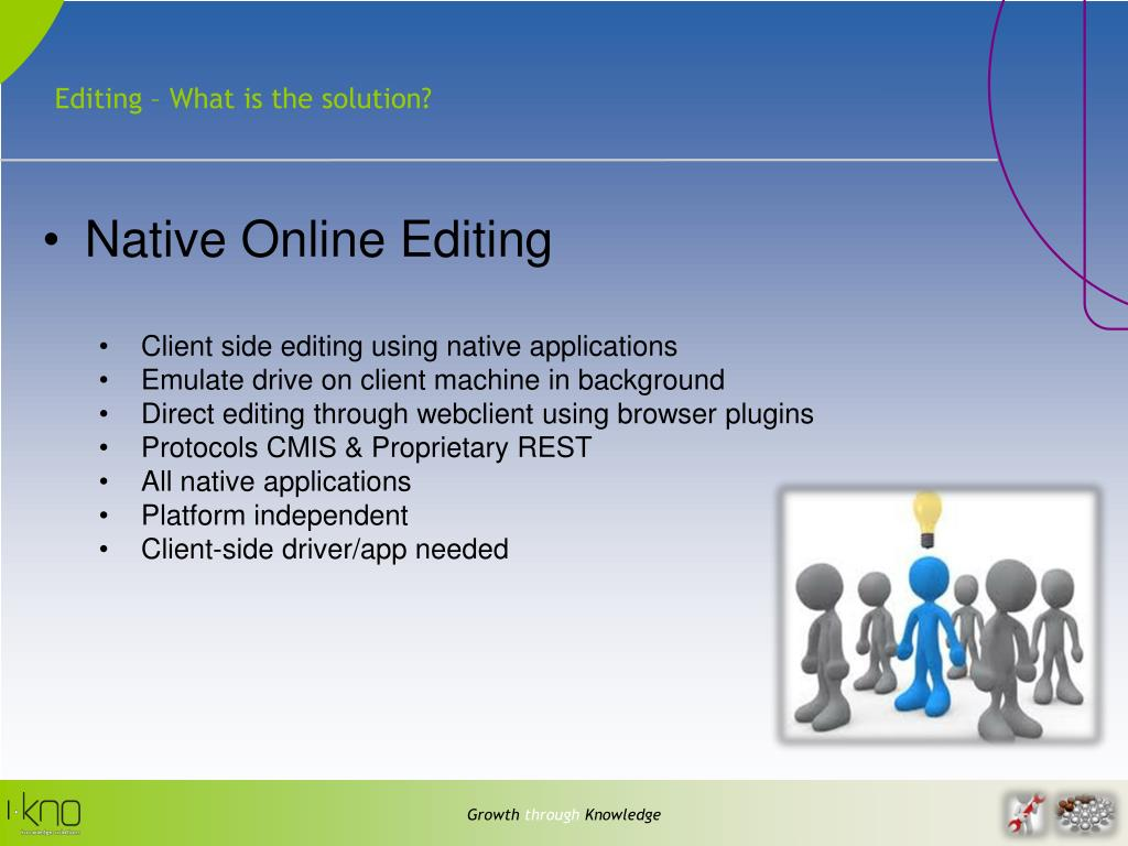 Editing – What is the solution?