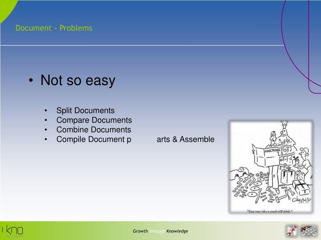 Document - Problems