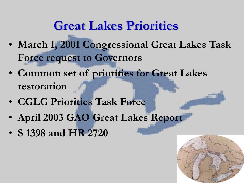 Great Lakes Priorities
