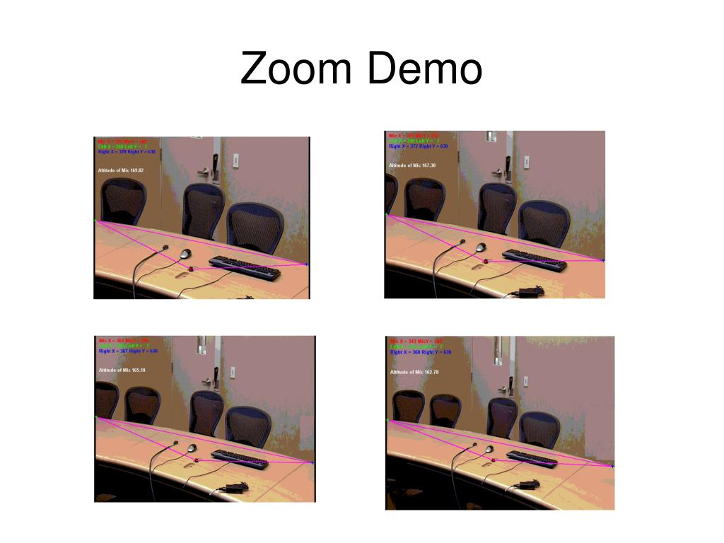 Zoom Demo