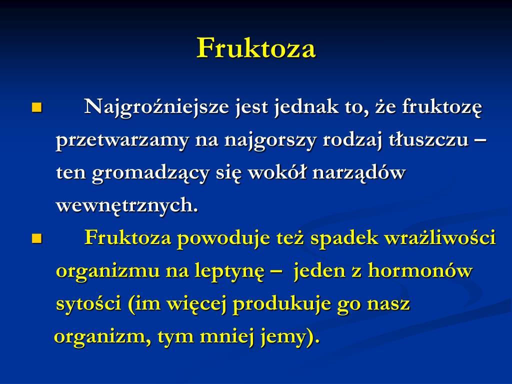 Fruktoza