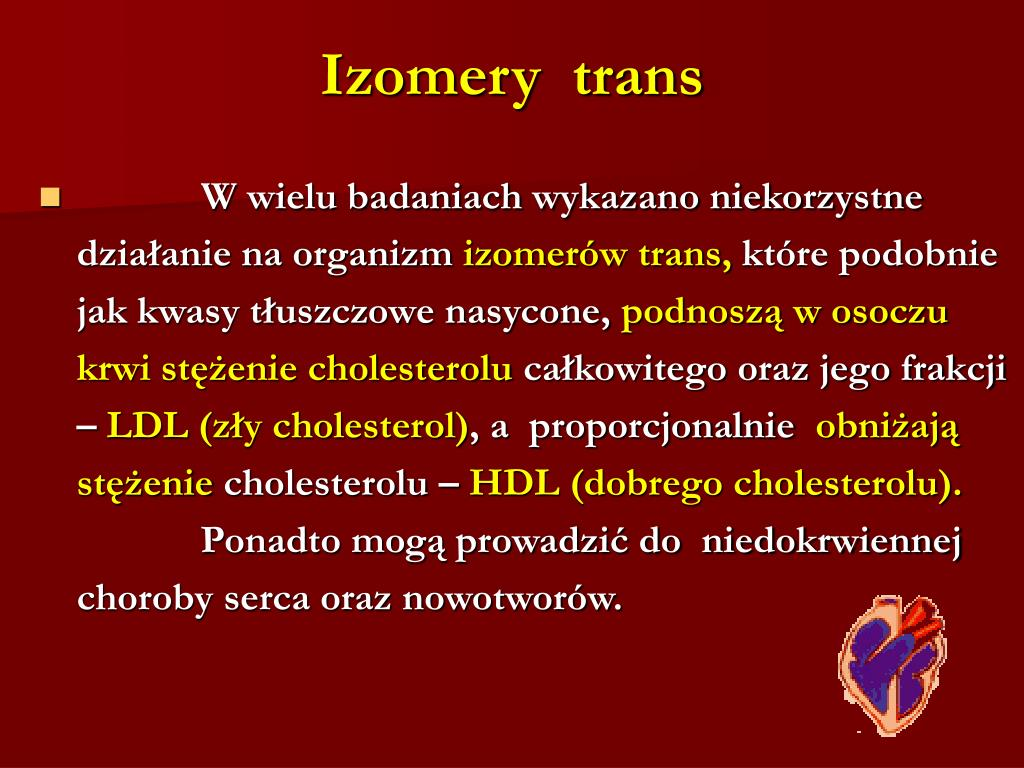 Izomery  trans
