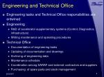engineering and technical office