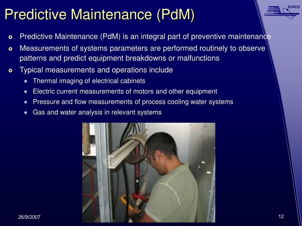 Predictive Maintenance (PdM)