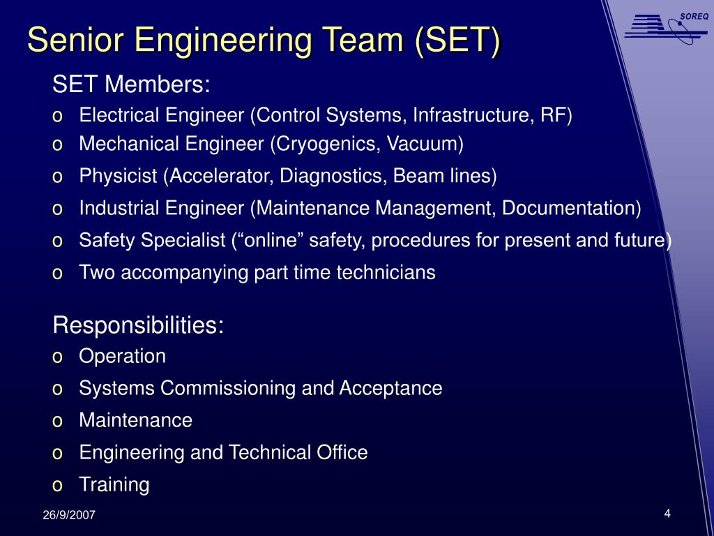 Senior Engineering Team (SET)