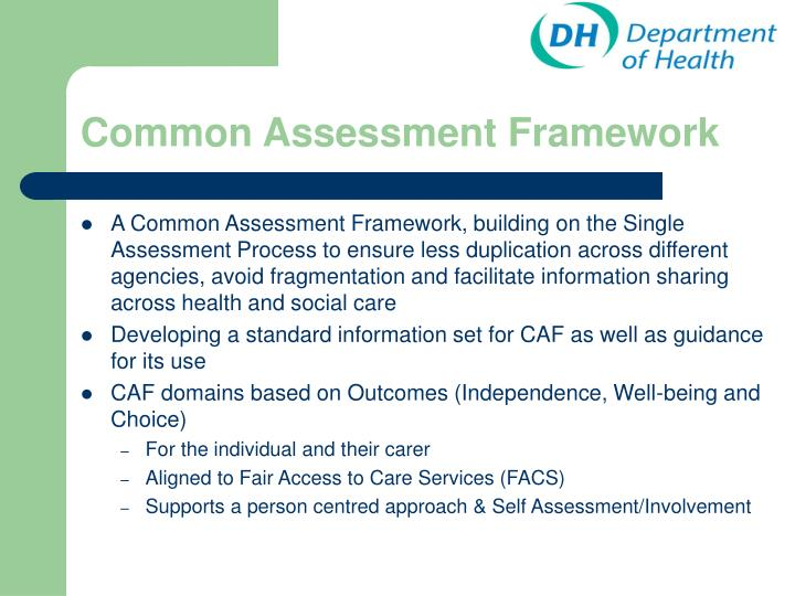 Common assessment framework l.jpg