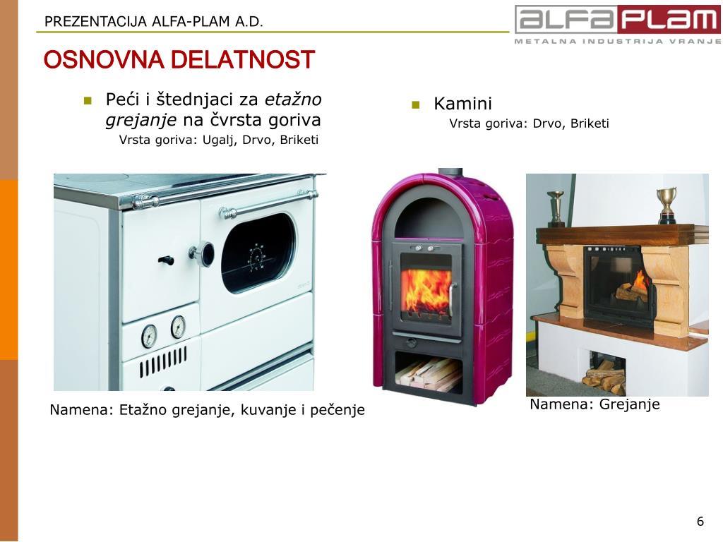 Peći i štednjaci za