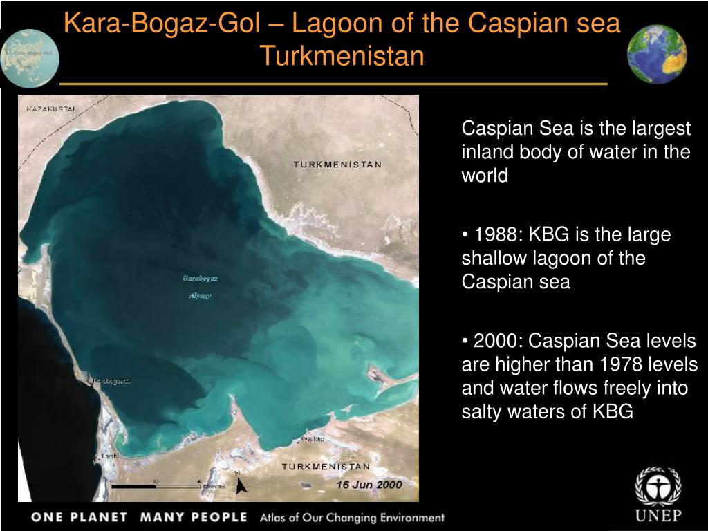 Kara-Bogaz-Gol – Lagoon of the Caspian sea