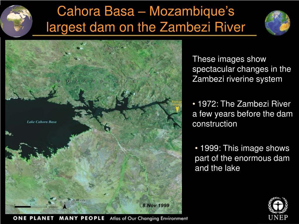 Cahora Basa – Mozambique's largest dam on the Zambezi River