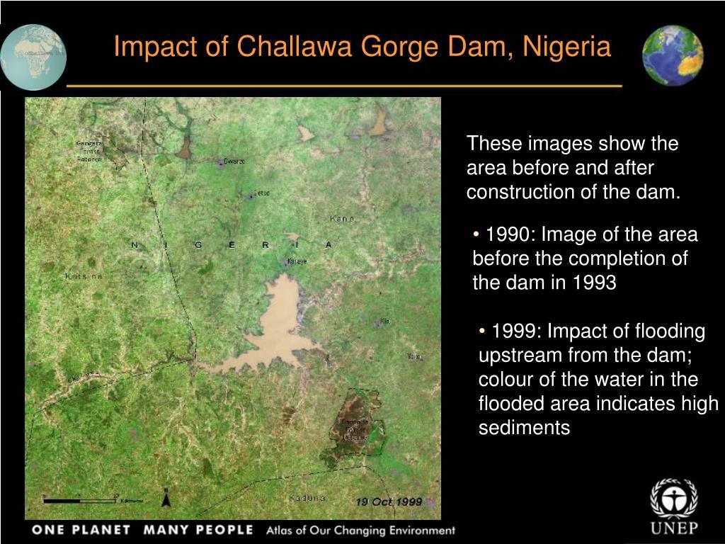 Impact of Challawa Gorge Dam, Nigeria