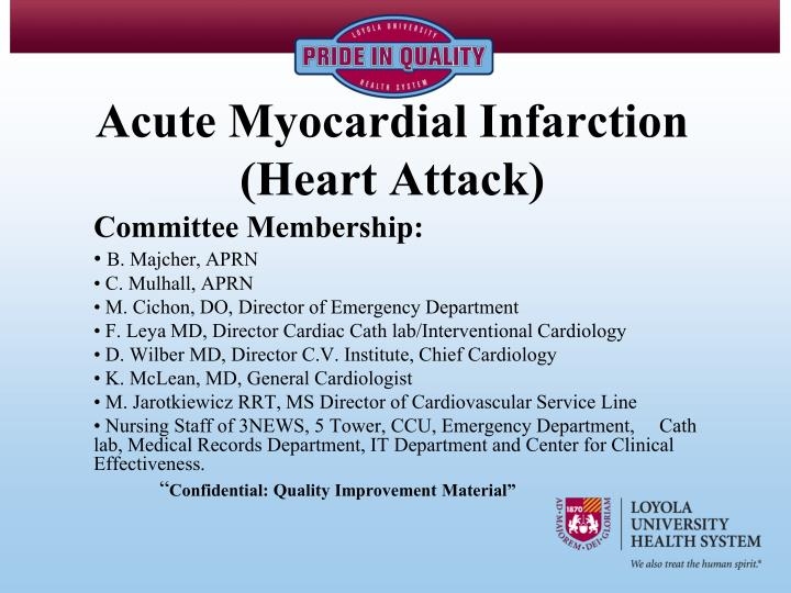Acute myocardial infarction heart attack l.jpg