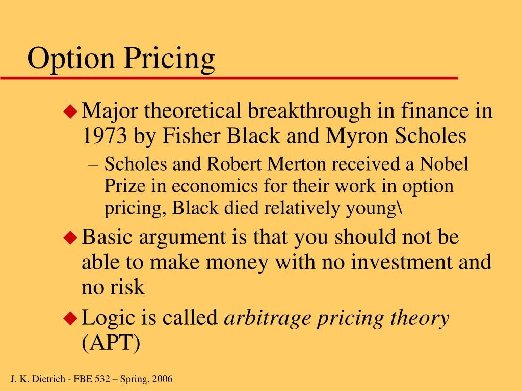 Extending the black scholes merton model to value employee stock options