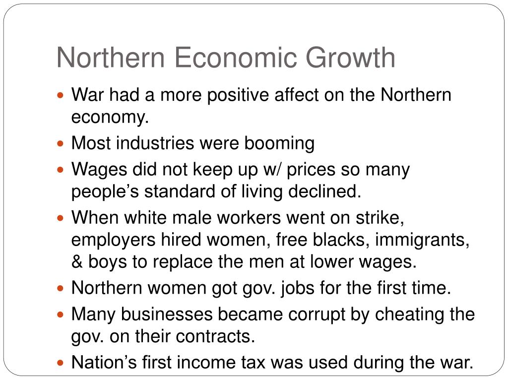 Northern Economic Growth
