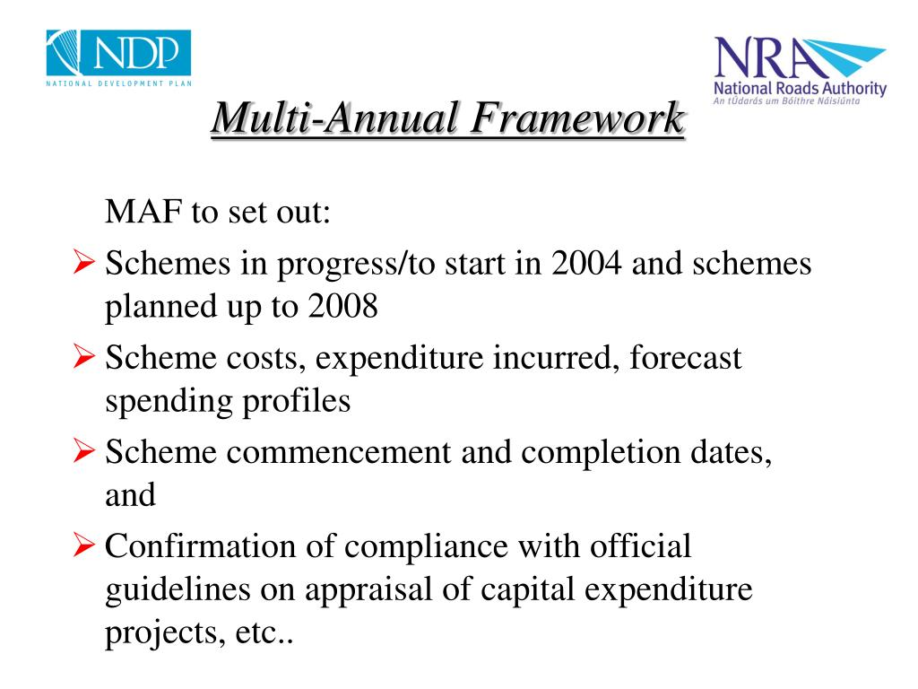 Multi-Annual Framework