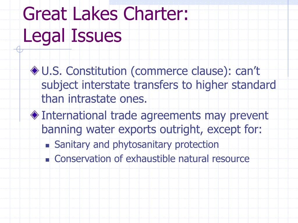 Great Lakes Charter: