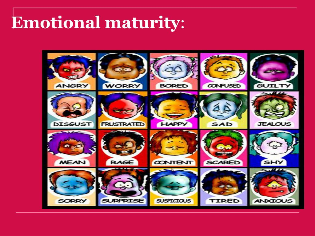 how to develop emotional maturity