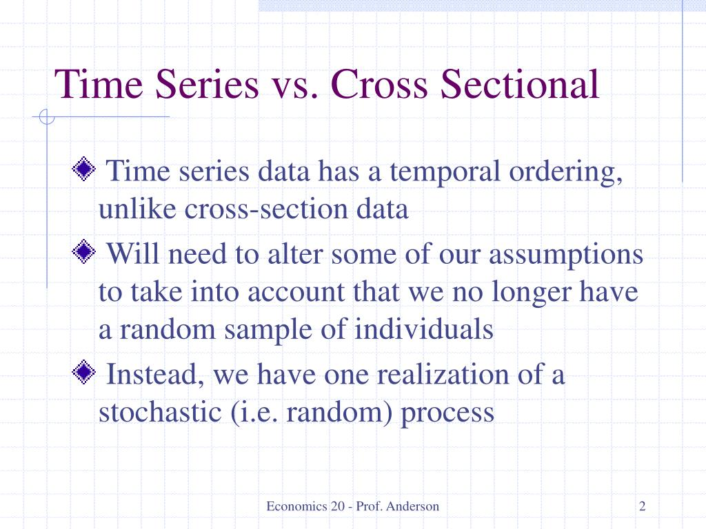time series cross sectional analysis Cross-sectional ratio analysis: read the definition of cross-sectional ratio analysis and 8,000+ other financial and investing terms in the nasdaqcom financial glossary  real-time alerts, and .