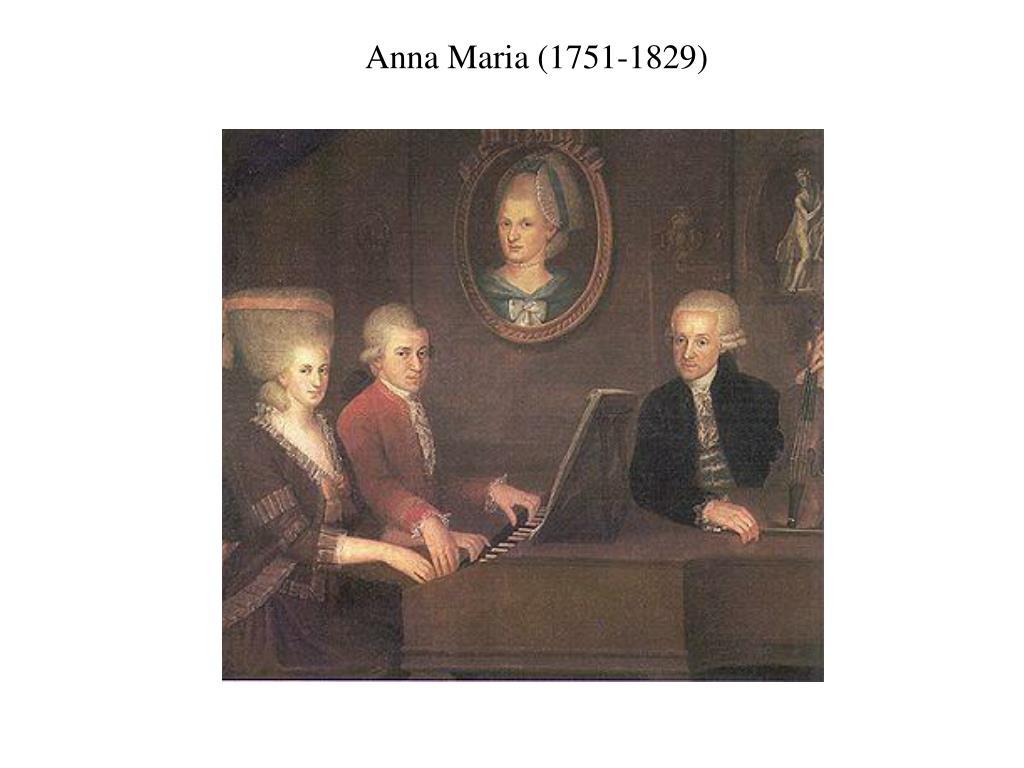 Anna Maria (1751-1829)