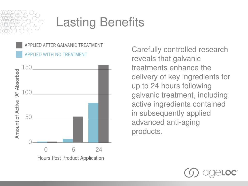 Lasting Benefits