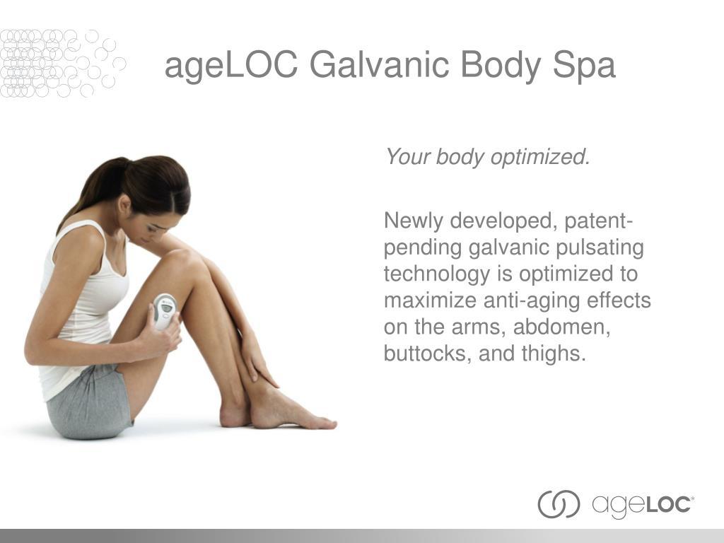 ageLOC Galvanic Body Spa