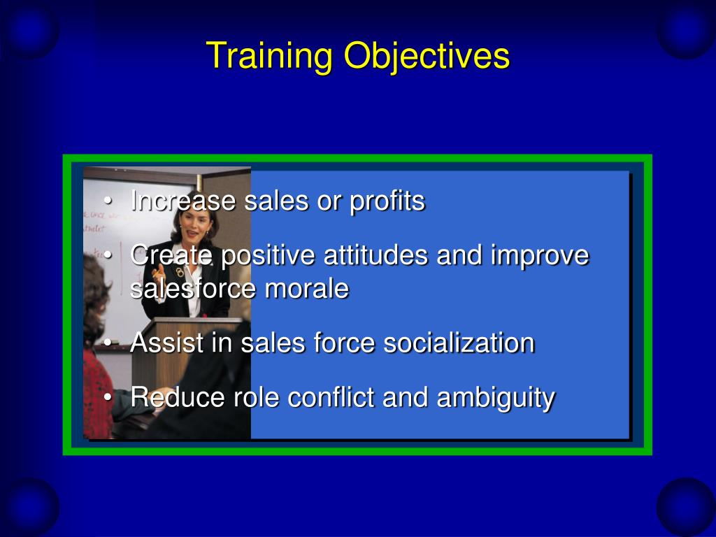 Training Objectives
