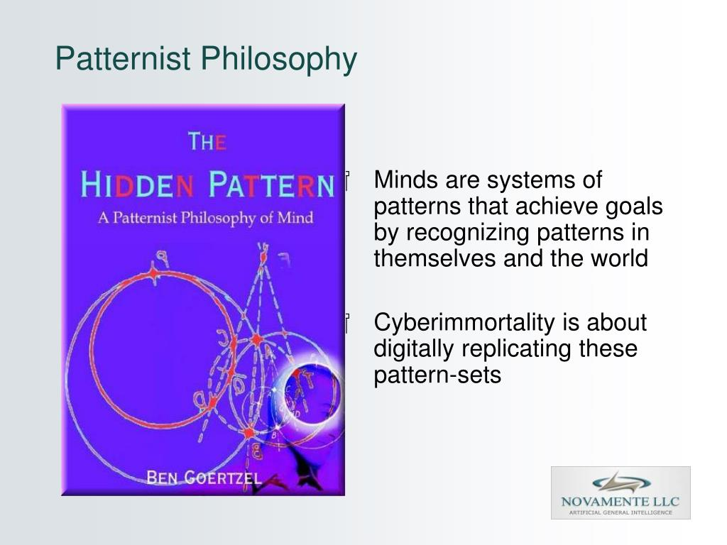 Patternist Philosophy