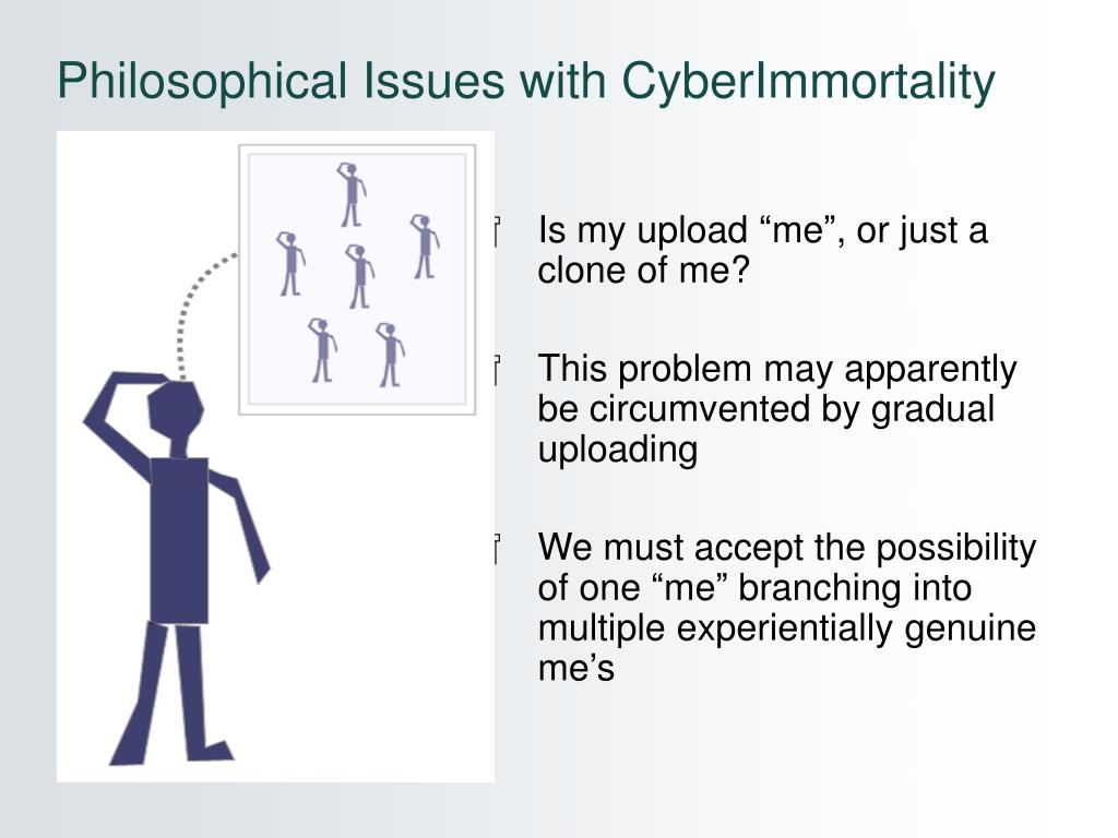 Philosophical Issues with CyberImmortality
