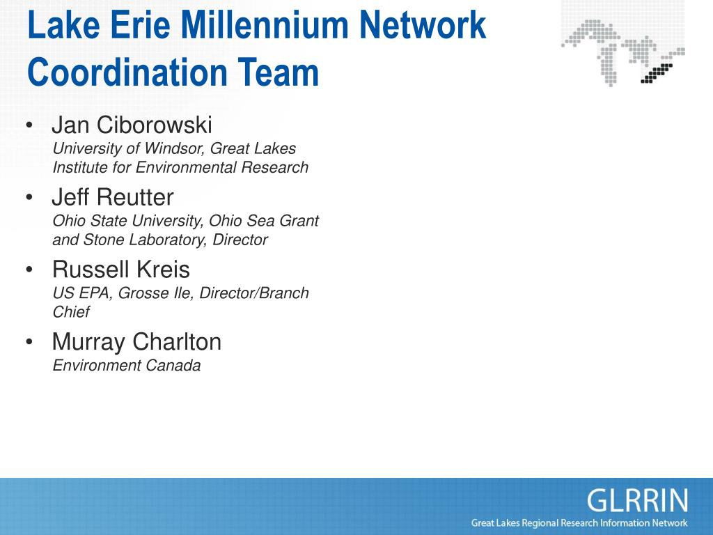 Lake Erie Millennium Network