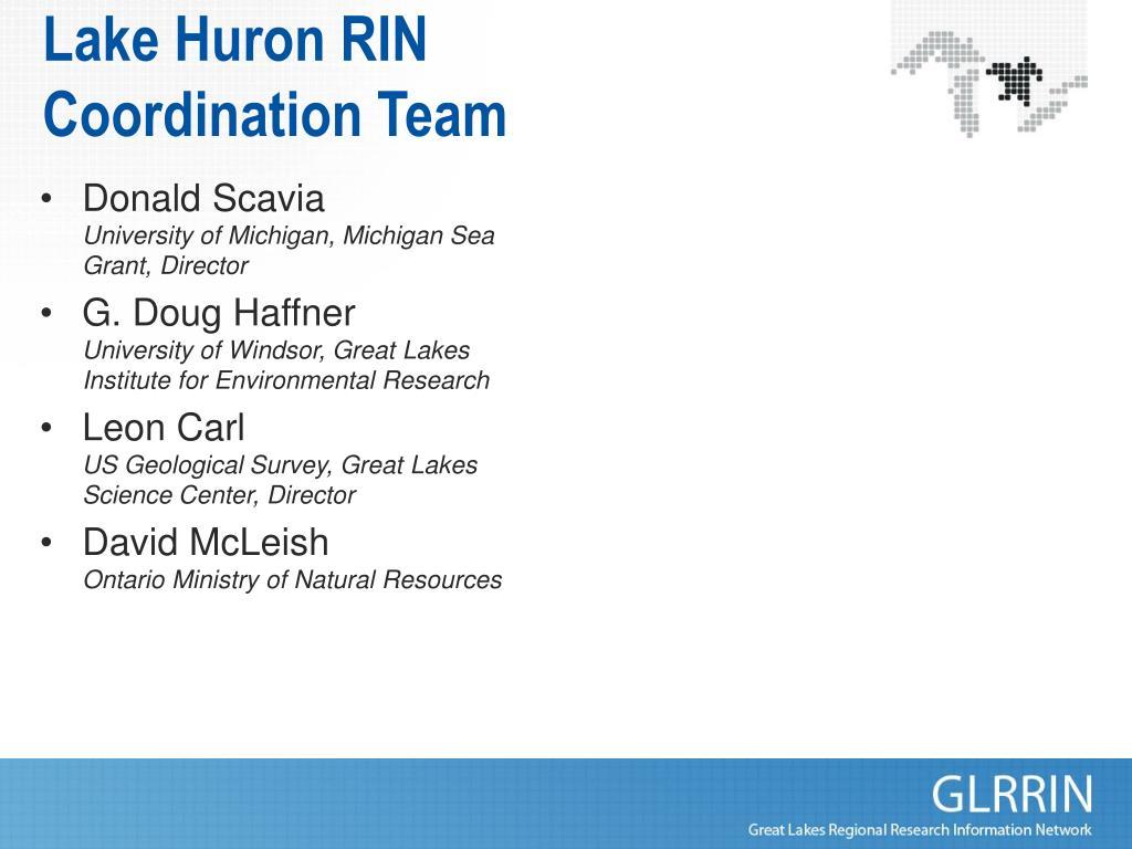 Lake Huron RIN