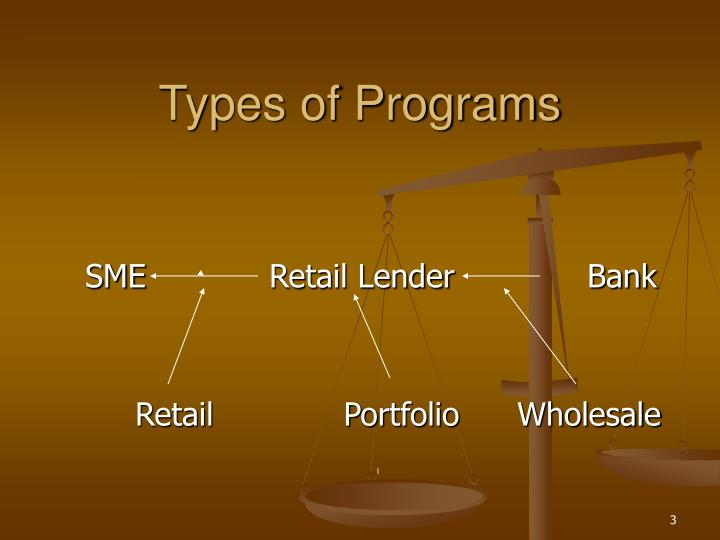 Types of programs l.jpg