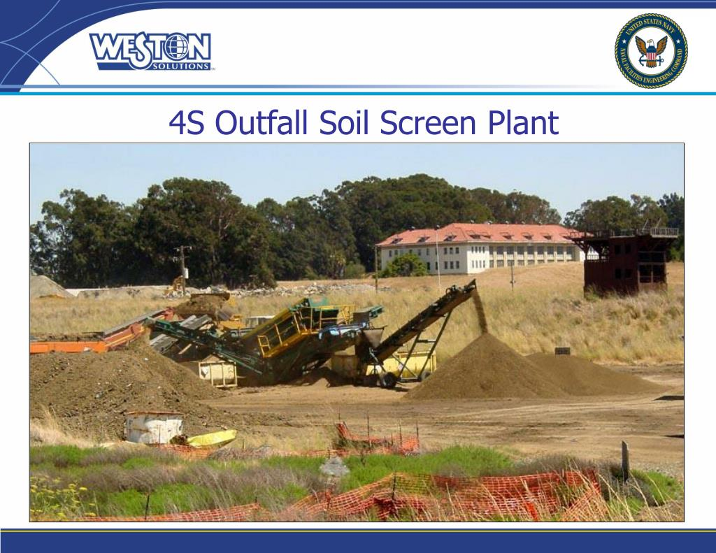 4S Outfall Soil Screen Plant