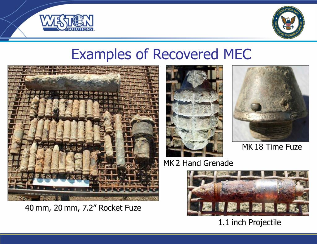 Examples of Recovered MEC