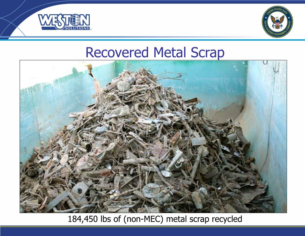 Recovered Metal Scrap