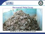 recovered metal scrap