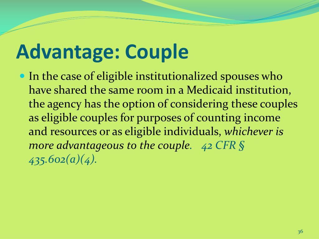 Advantage: Couple