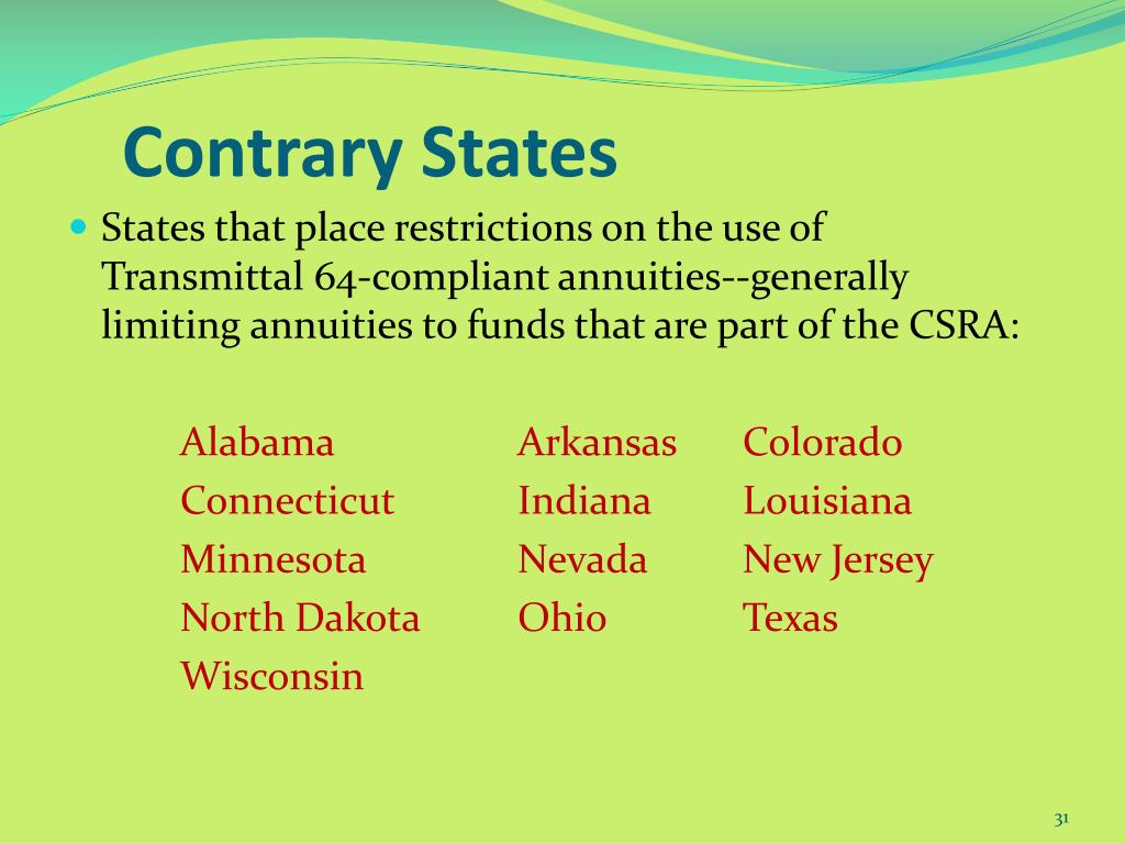Contrary States