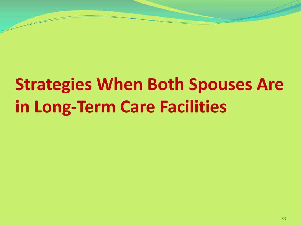Strategies When Both Spouses Are in