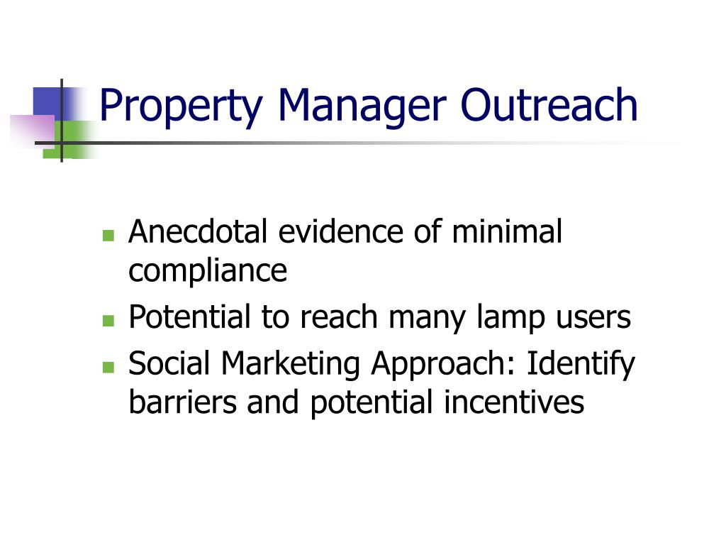 Property Manager Outreach