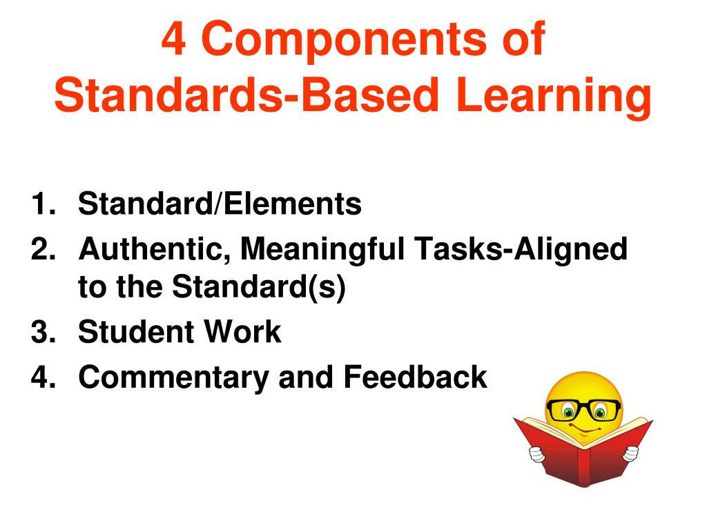4 Components of Standards-Based Learning
