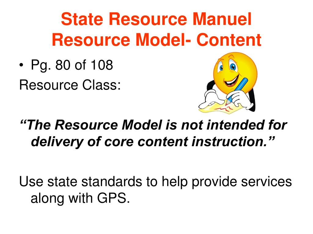 State Resource Manuel