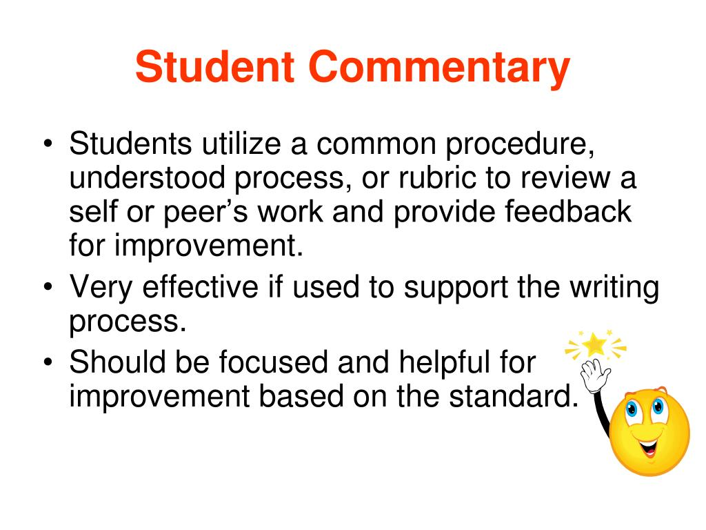 Student Commentary