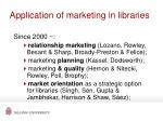 application of marketing in libraries26