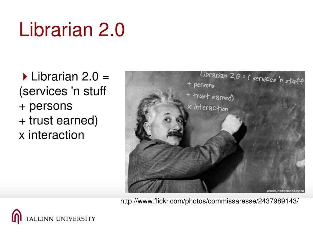 Librarian 2.0