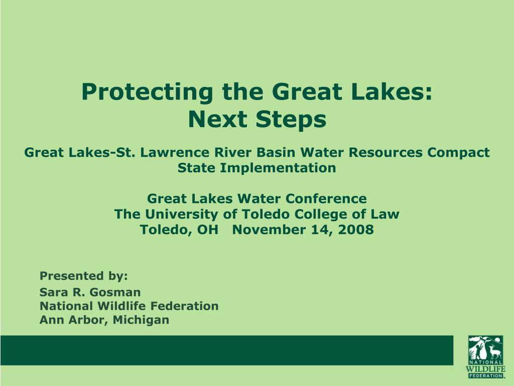 Protecting the Great Lakes: