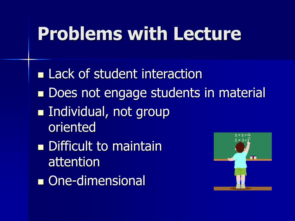 Problems with Lecture